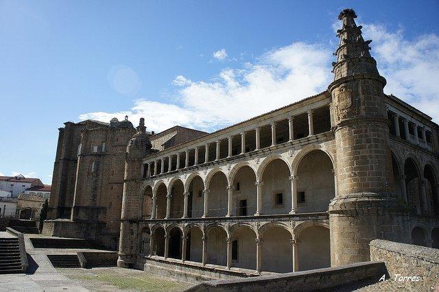 Monasterio de Alcántara.