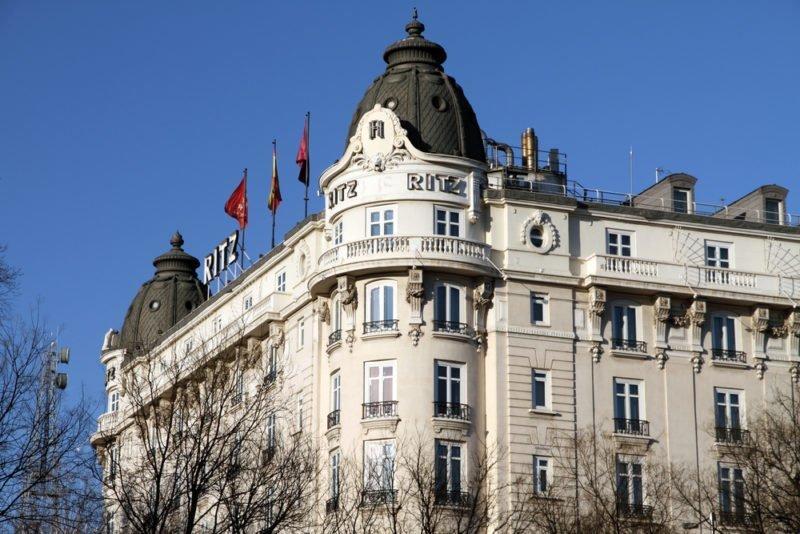 Un recorrido por los hoteles con más historia de Madrid