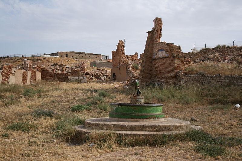 Belchite: el pueblo destruido por la Guerra Civil (Zaragoza) 2