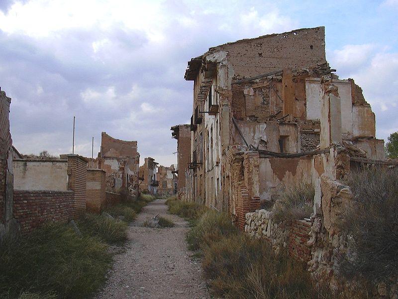 Belchite: el pueblo destruido por la Guerra Civil (Zaragoza) 4