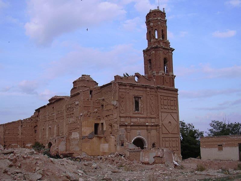 Belchite: el pueblo destruido por la Guerra Civil (Zaragoza) 8
