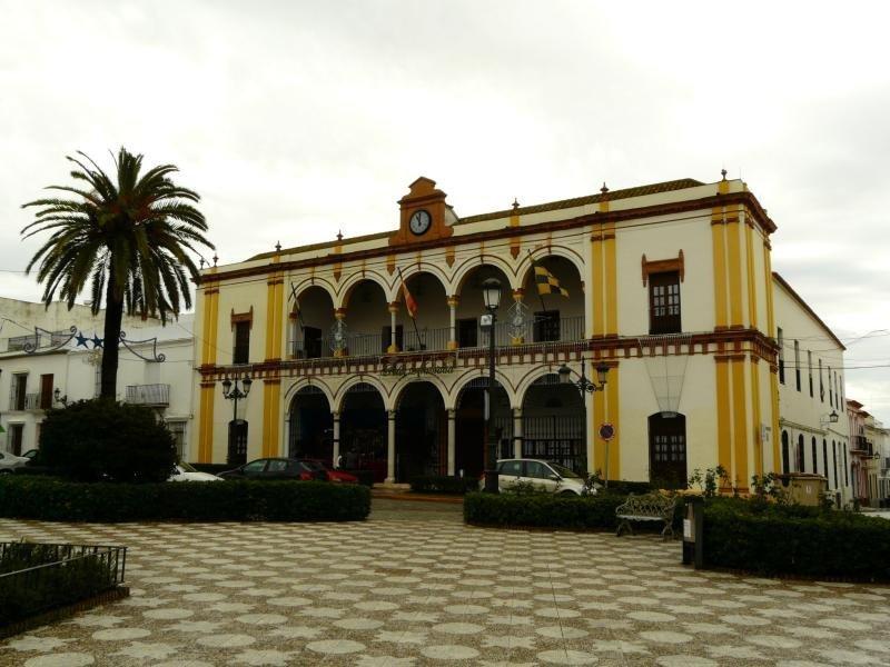 Ayuntamiento de la localidad onubense./Mogauar