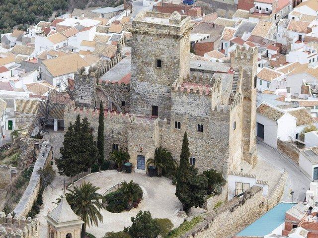 Castillo gótico de la localidad cordobesa./PSOEESPEJO