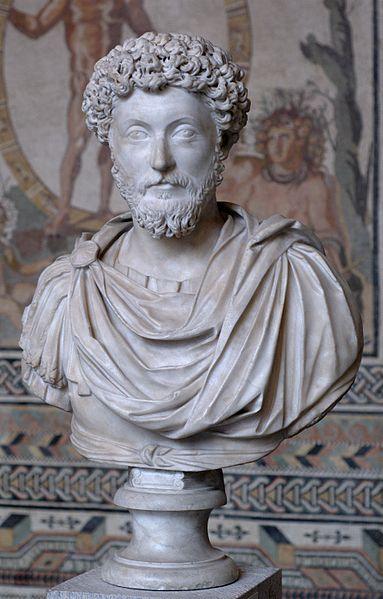 Busto del emperador romano Marco Aurelio, con antepasados de origen hispano./Bibi Saint-Pol