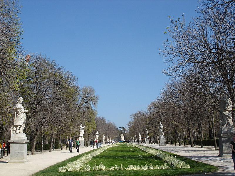 Paseo de las Esculturas./Zaqarbal