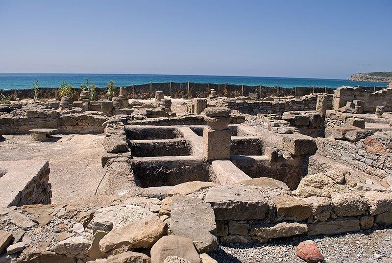 Factoría de salazones que aún perdura entre los vestigios de la ciudad romana./Anual