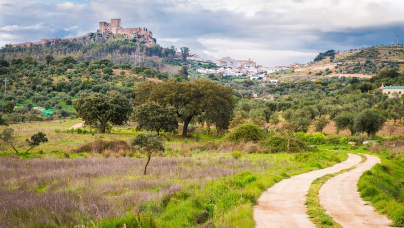Alburquerque: el país de los alcornoques (Badajoz)