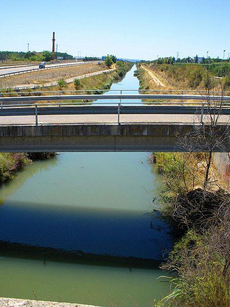 obra de ingeniería civil es el canal de castilla