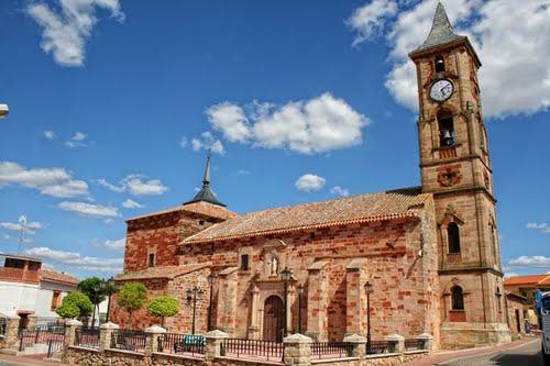 iglesia en montiel ciudad real