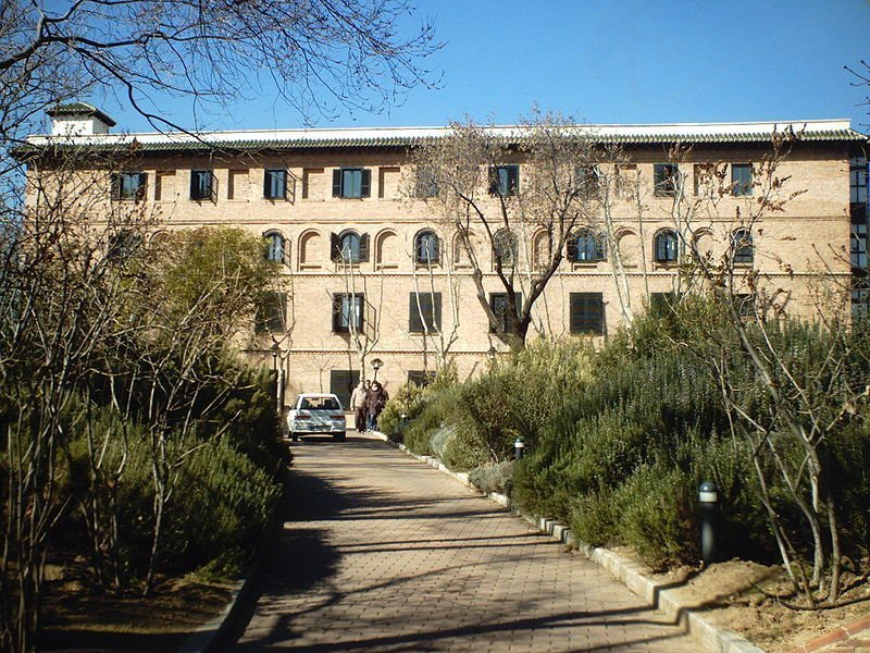 fachada residencia estudiantes madrid