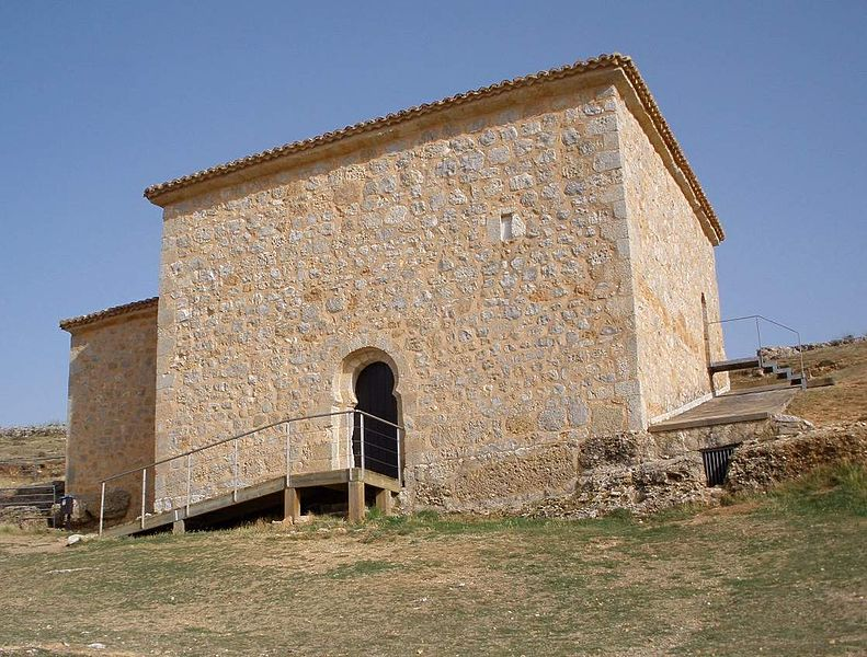 san baudelio de berlanga exterior - San Baudelio de Berlanga: la Capilla Sixtina del Mozárabe