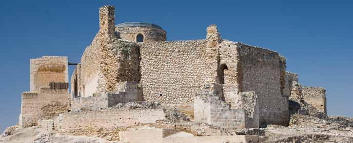 Fortaleza de Calatrava la Vieja.