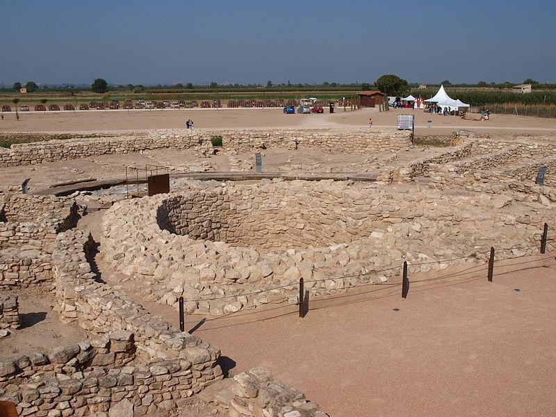Runas de la fortaleza ibera de Els Vilars de Aberca
