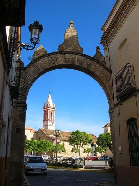 La plaza de Santiago en Castilleja de la Cuesta