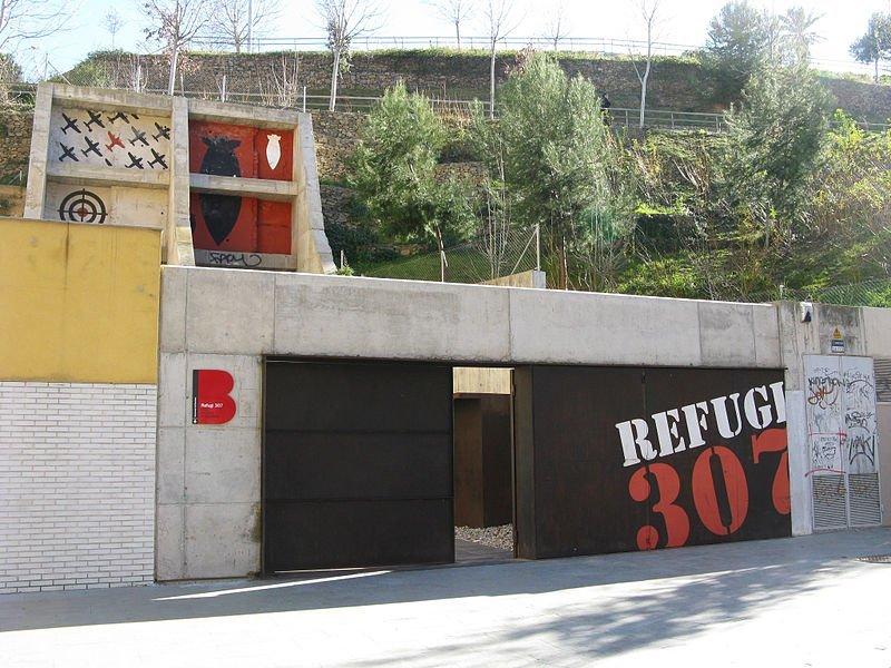 Refugios antiaéreos de la Guerra Civil (Barcelona)
