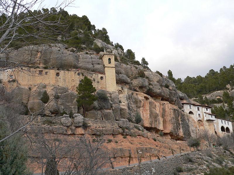 santuario de la balma - Ruta por el Maestrazgo (Castellón)