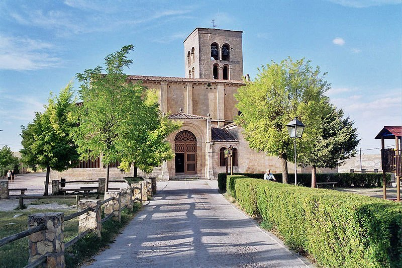 Iglesia de Santa María de la Peña en Sepúlveda.