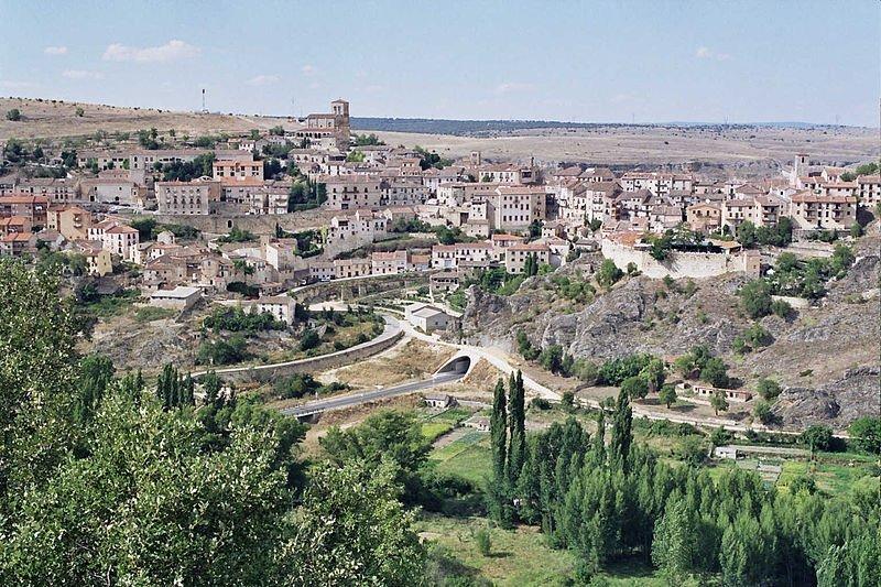 Vista general de la ciudad de Sepúlveda.