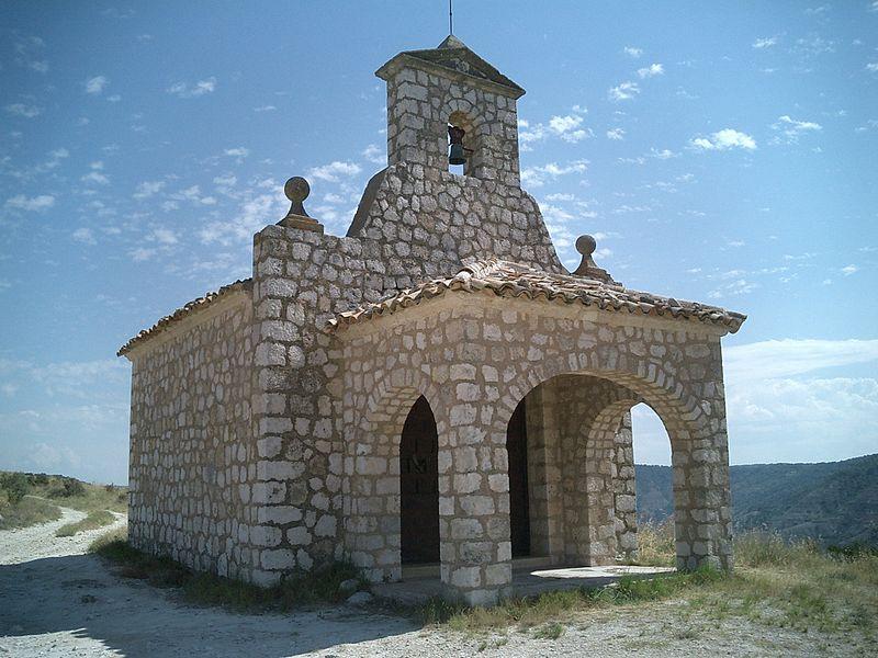 ermita del sagrado corazon pastrana - Pastrana y la princesa de Éboli (Guadalajara)