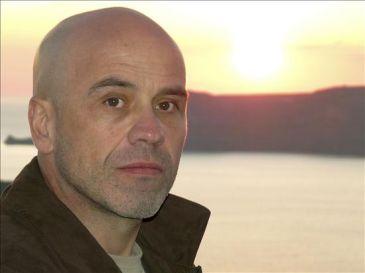 El escritor Javier Negrete