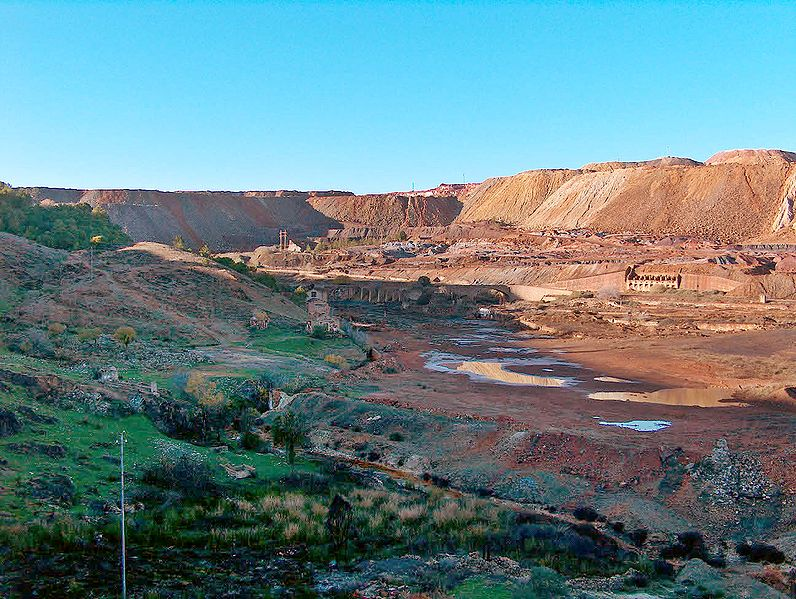 Minas de Riotinto, ya explotadas hace 5.000 años (Huelva)