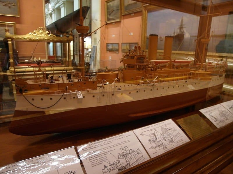 maqueta_maine_museo_naval_madrid