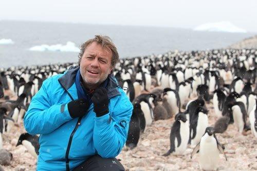 Nadal ha viajado hasta los confines de la Antártida.