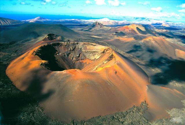Volcanes de Lanzarote (Islas Canarias)