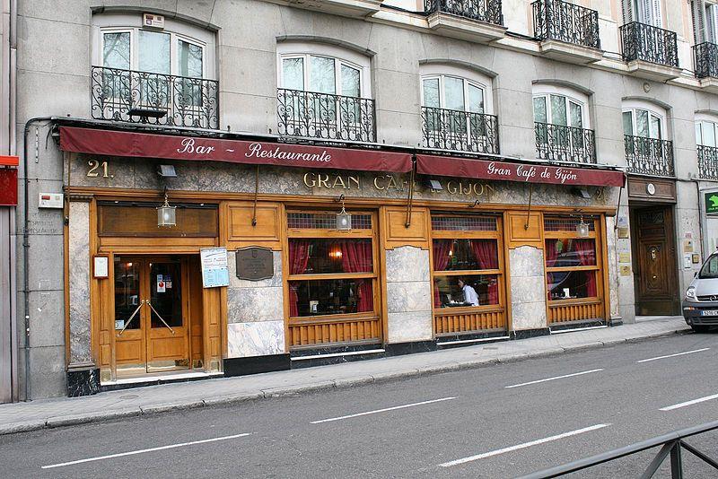 Cafés con tertulia (Madrid)