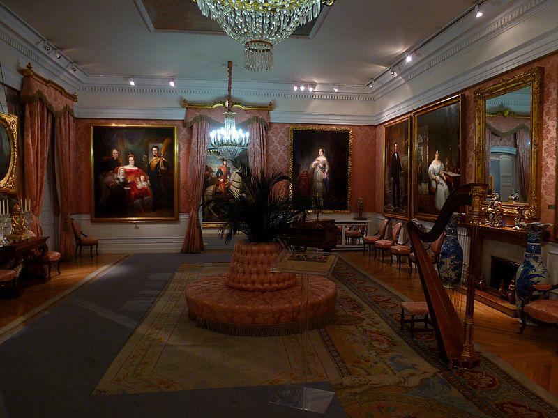 Salón de baile Museo del Romanticismo Outisnn - El Museo del Romanticismo en Madrid
