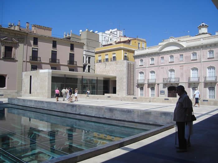 El Museo de la Almoina.