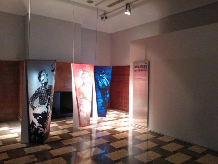 Salón reuniones Casa Cine Schumi4ever - El Cortijo Romero o La Casa del Cine (Almería)