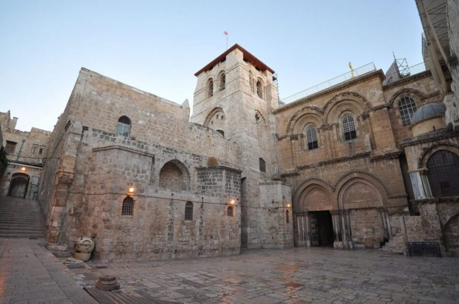 Iglesia del Santo Sepulcro, donde la tradición cristiana afirma que se deposita la tumba de Cristo./Jlascar