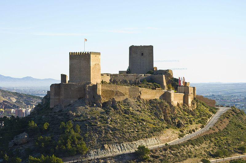 Castillo de Lorca Jose Lorca - El Reino de Todmir