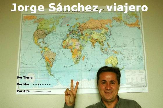 Jorge Sánchez: el mayor viajero del mundo