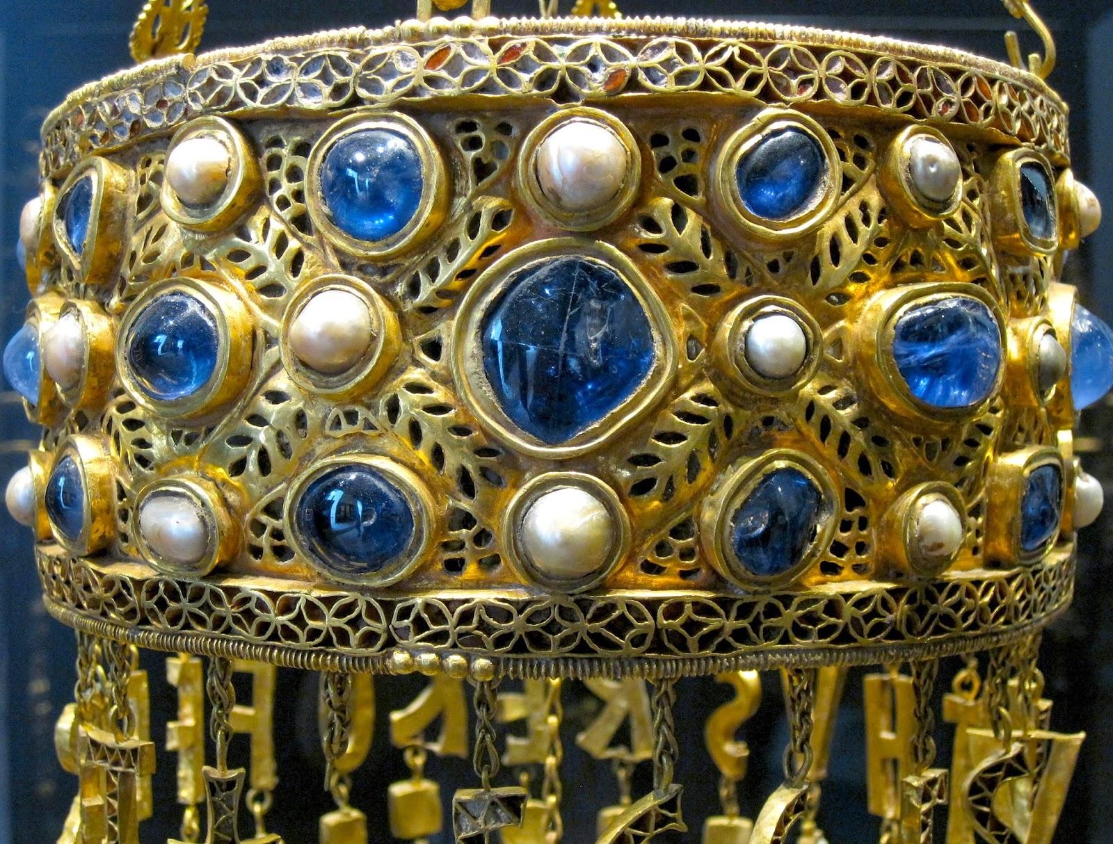 Corona de Recesvinto - Ruta de las reliquias a través de la España Mágica