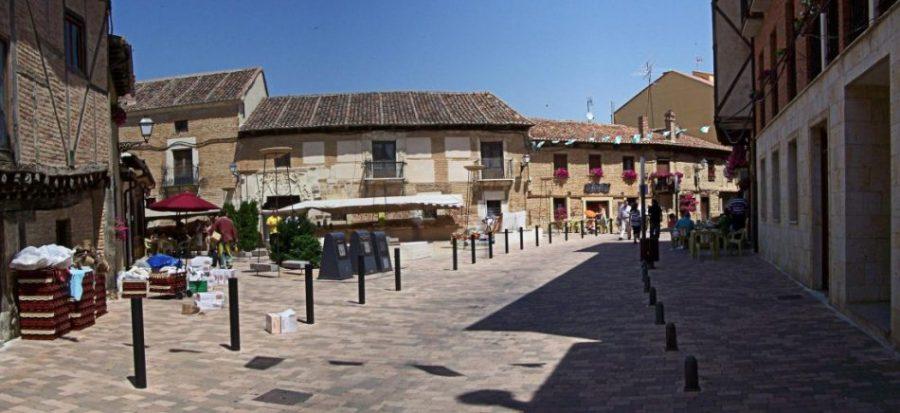 El casco histórico de Saldaña está considerado Bien de Interés Cultural./alpoma