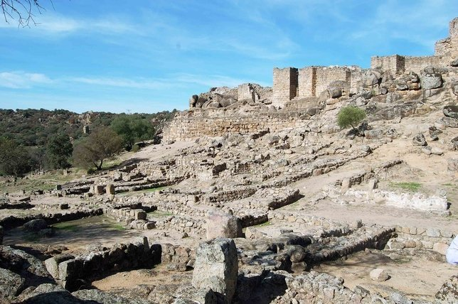 ruinas de vascos - Ciudad de Vascos, un notable poso islámico en la Península (Toledo)