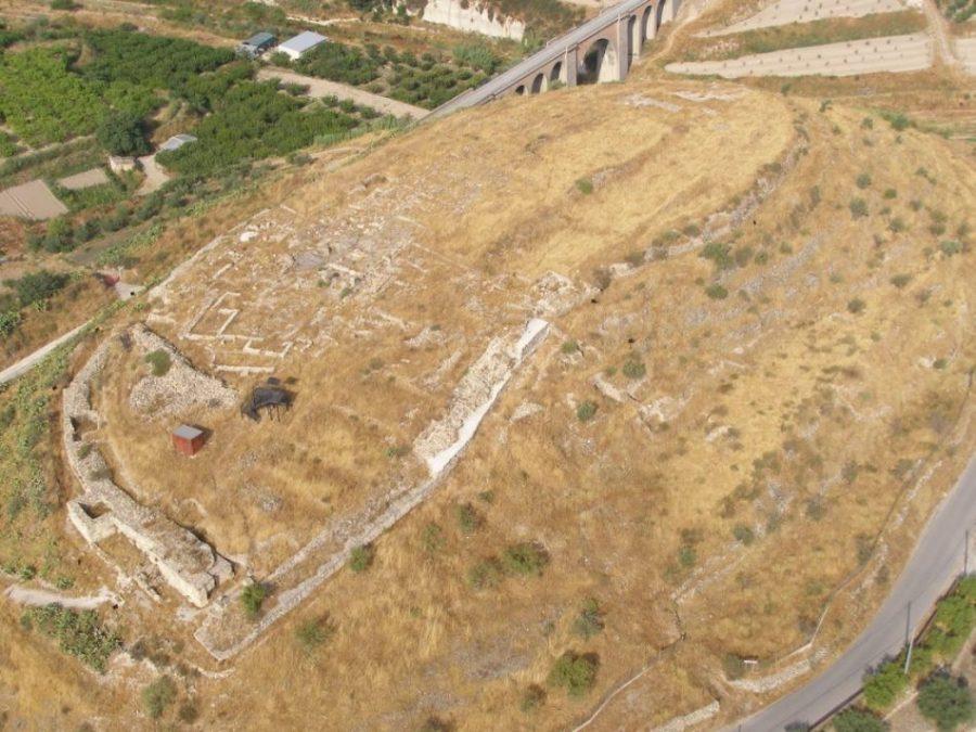 Ruinas de la antigua ciudad de 'Begastri'.