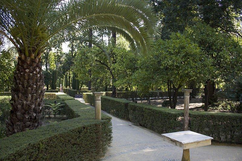 Sevilla Reales Alcazares Jardín del Marqués de la Vega Inclán Daniel Villafruela - Reales Alcázares de Sevilla, el jardín del Edén