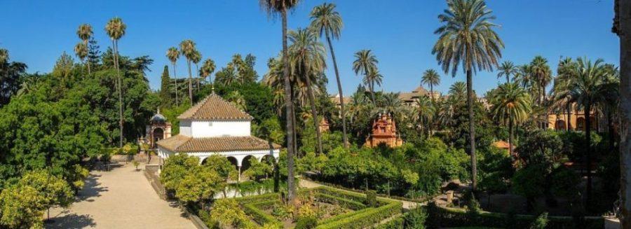 Reales Alcázares de Sevilla, el jardín del Edén