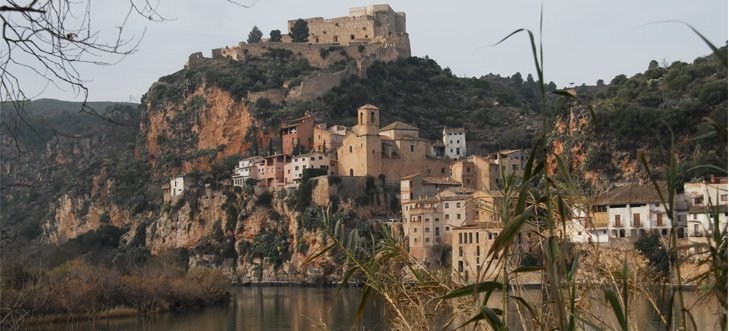 Los templarios defendieron con ardor guerrero el castillo de Miravet durante la Edad Media./Ayuntamiento de Miravet