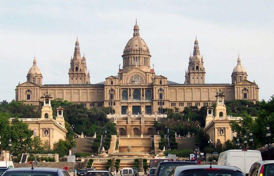 El Museo Nacional de Arte de Cataluña y la mejor pintura románica del planeta (Barcelona)