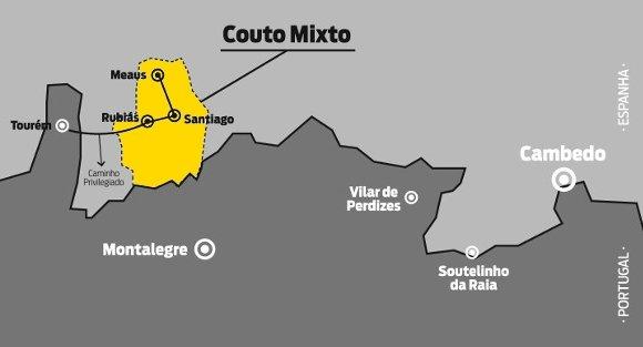 mapa coto mixto