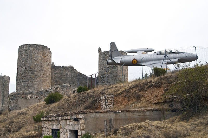 Castillo De Coruña Del Conde Juan Carlos Gómez - Coruña del Conde, la cuna de la aviación (Burgos)