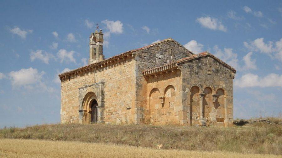 Ermita del Santo Cristo de San Sebastian Rubén Ojeda - Coruña del Conde, la cuna de la aviación (Burgos)