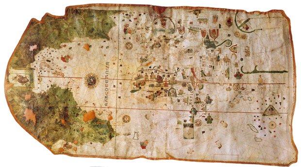 De ruta por los mapas que han configurado el mundo conocido