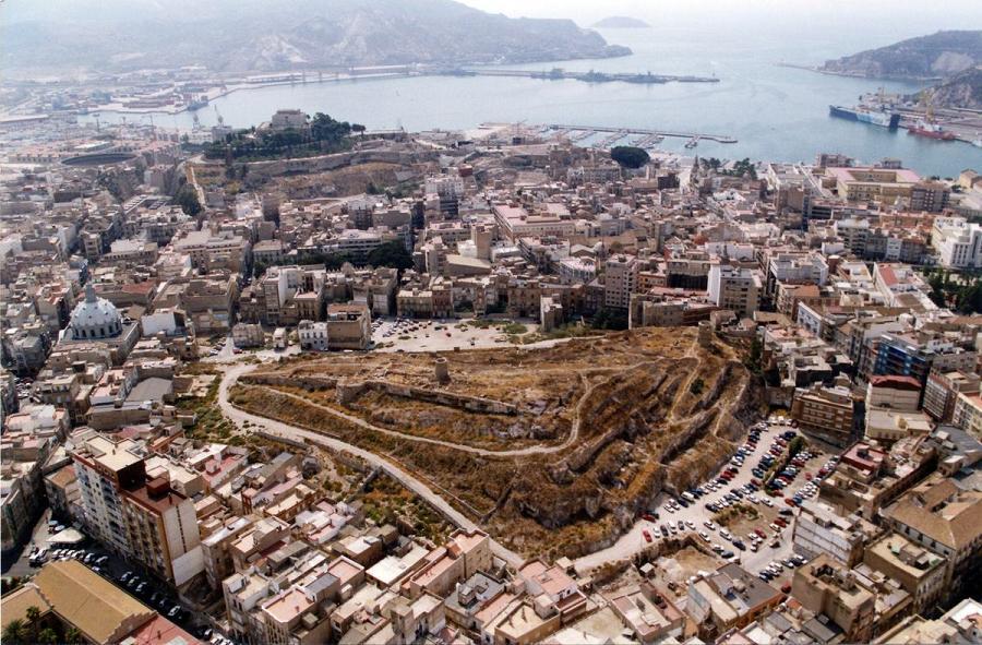 El colosal palacio de Asdrúbal en Cartagena