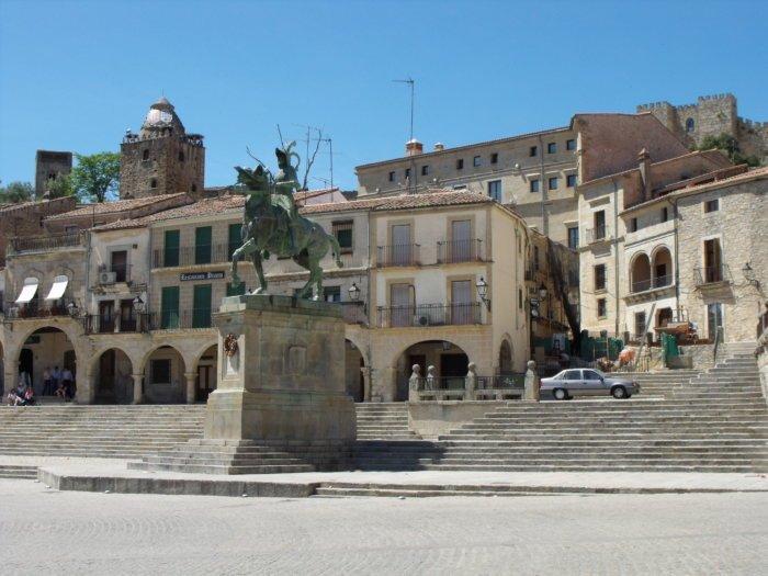 Trujillo, la tierra de Pizarro y Orellana (Cáceres)