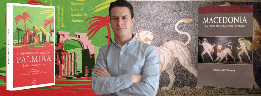 Mario Agudo es autor de los libros 'Palmira' y 'Macedonia'.